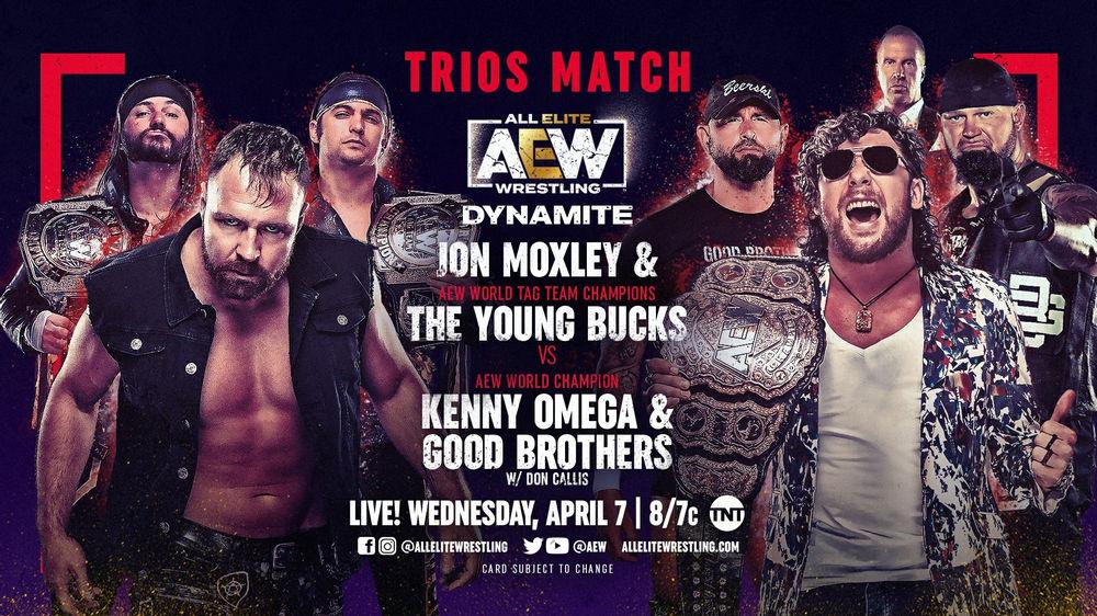 AEW Dynamite Preview for April 7, 2021   Big Gold Belt Media